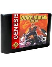 Royal Retro Duke Nukem 3D - USA Label Flashkit MD Electroless Gold PCB Card for Sega Genesis Megadrive Video Game Console (Region-Free)