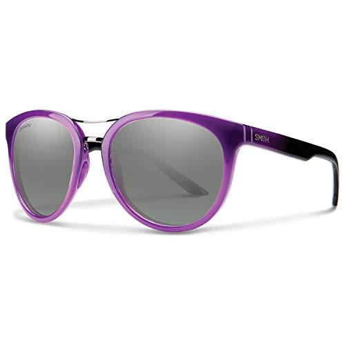 Smith Optics Womens Lifestyle Bridgetown Chromapop Sunglasses - Violet Spray/Platinum ()