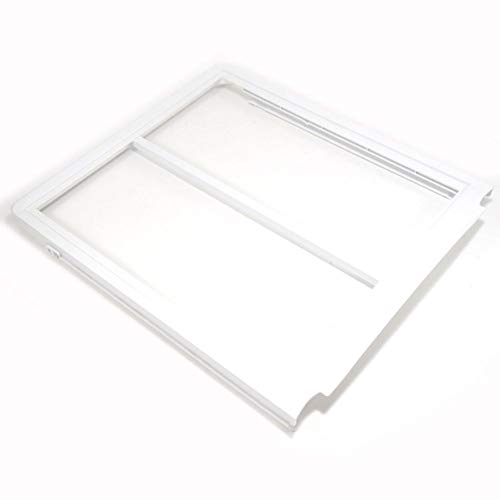 (240599302 Refrigerator Crisper Drawer Cover Frame, Upper Genuine Original Equipment Manufacturer (OEM) Part)