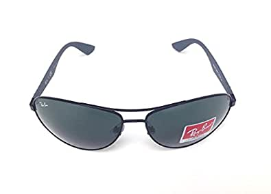 New Ray Ban Active Lifestyle RB3526 006/71 Matte Black / Grey Green 63mm Sunglasses
