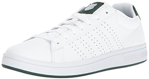Sneaker K-swiss Mens Corte Casper S Bianco / Verde Scuro