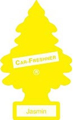 12 Pack Car Freshner 10433 Little Trees Air Freshener Jasmin Scent - Single Tree per Package