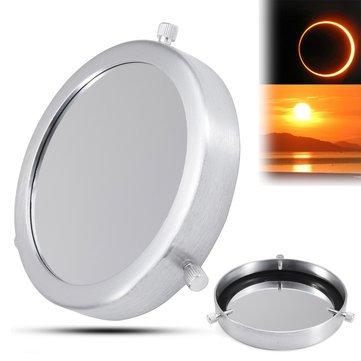 Silver 90-112mm Solar Filter Lens Baader Film Metal Cover For Astronomical Telescope - Camping Telescope & Binoculars - 1 x Solar Filter