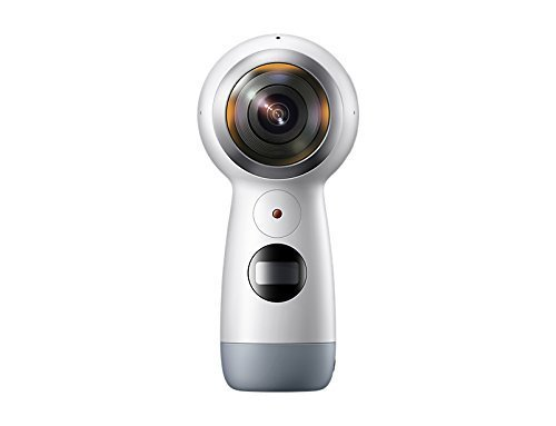 Samsung Gear 360 SM-R210 (2017 Edition) Spherical Cam 360 degree 4K Camera (International Version) (Pocket Camera Samsung)
