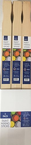 SHLA Group PS5G3 5 Gallon Paint Mixing Stick 90 Pack Great for Crafts, Piece (5 Piece Paint Stick)