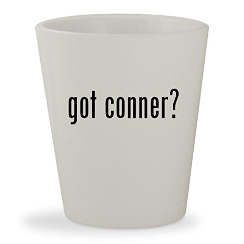 got conner? - White Ceramic 1.5oz Shot - Glasses Browne Thomas