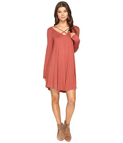 トレーダーカプラー入力[カルチャー ピット] Culture Phit レディース Mille Long Sleeve Dress with Strap Detail ドレス [並行輸入品]