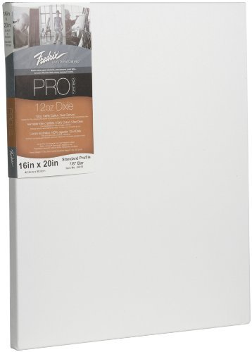 Fredrix 49015 12-Ounce Dixie Standard Stretched Canvas, 16 by 20-Inch [並行輸入品]   B07TH2HHSH