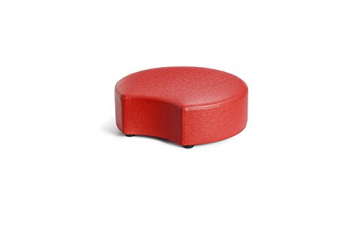 Logic Furniture MOONCFT06 Moon 2 Crescent Ottoman, 6'', Fire Truck by Logic Furniture