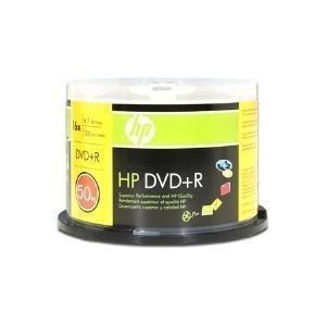 HP DVD + R 16 x 4.7 GBデータ/ 120分ビデオDiscs – 50パック B00JBRIALE