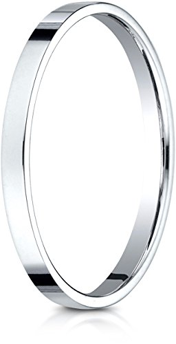 White Gold Benchmark Wedding Ring - 1
