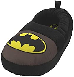 Image of Batman Logo Slippers for Toddler Boys and Boys