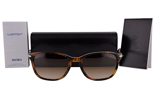 Persol PO3133S Sunglasses Coffee Havana w/Brown Gradient Lens 52mm 901651 PO - Persol Po3113s