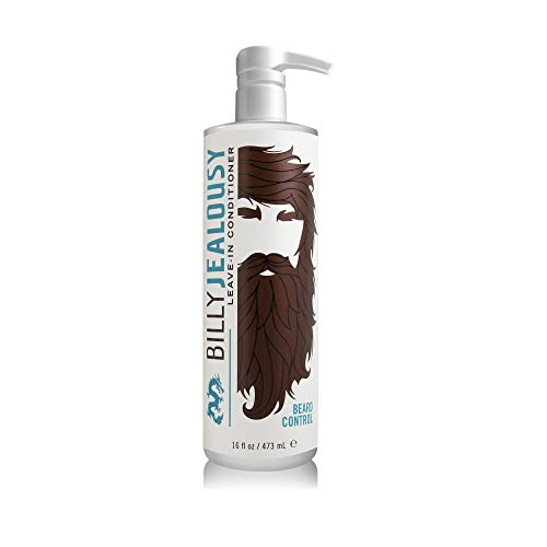 Billy Jealousy Beard Control Leave-In Mens Light Styling Beard Conditioner with Aloe, 16 Fl oz