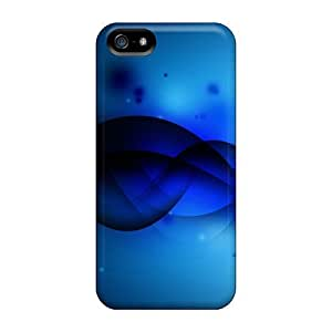 5/5s Scratch-proof Protection Case Cover For Iphone/ Hot Blue Wave Phone Case by Maris's Diary