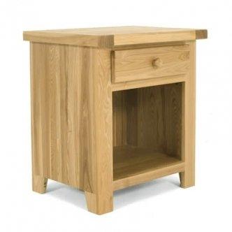 Zocalo Furniture 2 X Harvest 1 Drawer Bedside Cabinet HV33