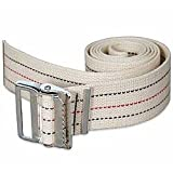 Kinsman Enterprises 80311 Gait Belt with Metal Buckle, 2'' Width, 32'' Length, #1 Stripe