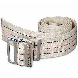 Kinsman Enterprises 80311 Gait Belt with Metal Buckle, 2'' Width, 32'' Length, #1 Stripe by Kinsman Enterprises