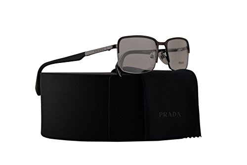 Prada PR61QV Eyeglasses 56-18-140 Matte Light Brown w/Demo Clear Lens LAH1O1 VPR61Q VPR 61Q PR 61QV