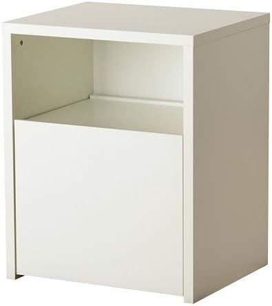 Ikea Micke Bureau Avec Rangement De L Imprimante Blanc 61x50 Cm Amazon Fr Cuisine Maison