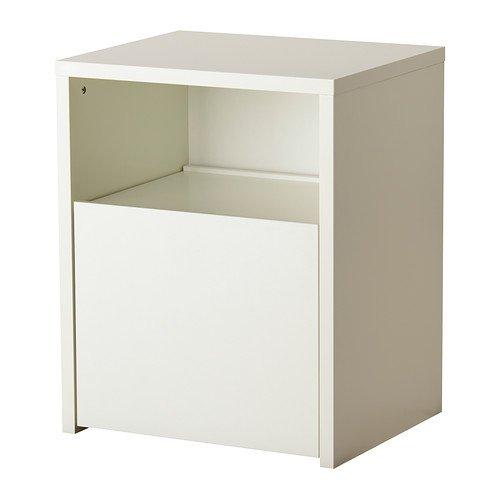 Ikea Micke - Bureau Avec Rangement De L'Imprimante, Blanc - 61X50