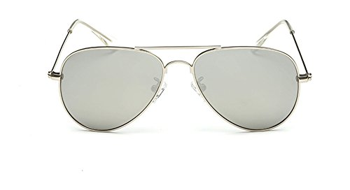 SOOLALA Children's UV400 Protection Anti-reflective Aviator Polarized Sunglasses, - Aviator For Kids Sunglasses