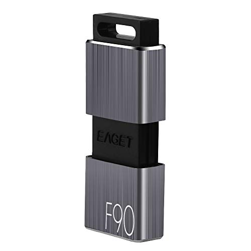 128GB USB 3.0 Flash Drive, Techkey F90 Pen Drive High Speed Thumb Drive Capless Pendrive Retractable USB Memory Stick Shock Resistant Jump Drive Compact Size by Techkey (Image #7)