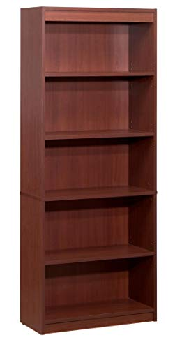 Bestar Standard Bookcase, Bordeaux