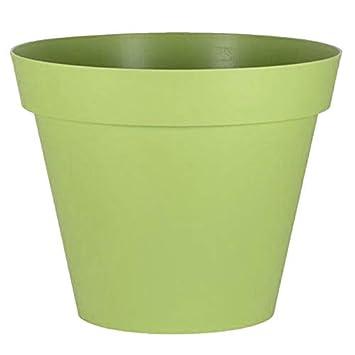 Pot Rond Toscane Xxl 100x79 5cm 356l Vert Matcha Eda
