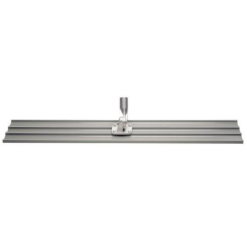 Kraft Tool Company CC801, 42''x8'' Square Ends Magnesium Bull Float with Thread Bracket