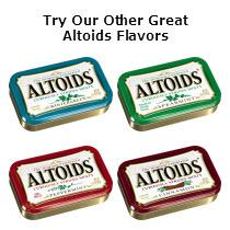 Altoids Wintergreen, Liquorice, Cinnamon and Ginger