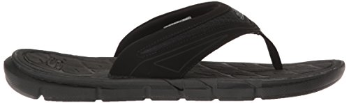 Skechers Sport Men's Thong with Memory Foam Flip Flop Black oB421I4V7