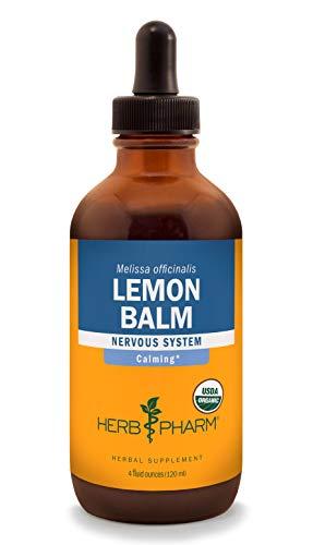 (Herb Pharm Lemon Balm Liquid Extract for Calming Nervous System Support - 4 Fluid Ounce)