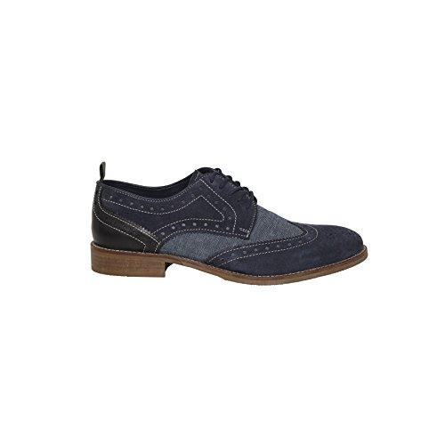 Nebulus Zapatos de Cordones Bottes Azul EU 45 gCT6NgI