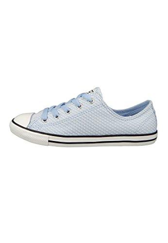 Converse Dame Chuck Taylor Cta'er Nydelig Ox Tekstil FitnessSko Blau (blå Chill / Hvid / Sort 457) wPx44JLmNU