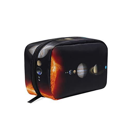 Cosmetic Makeup Bag Pouch Science Space Artwork Artistic Futuristic Clutch ()