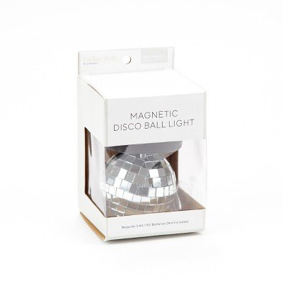 Locker Style153; Disco Ball LED Light Decoration - Silver Silver
