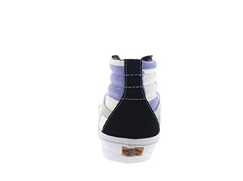 VANS Sneaker - SK8-HI REISSUE CA - glitch check black blue white glitch check black blue white