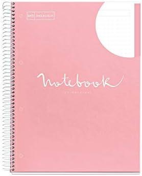 Miquelrius Notizbuch A4 Emotions Rosa