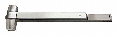 Exit Device, Series ED5500, Satin/Stainless Steel, Panic Rim