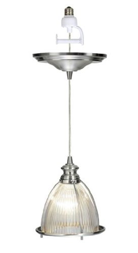 Instant Pendant Light with Screw-in Adapter -  Worth Home Products, PBN-0406-0030-R