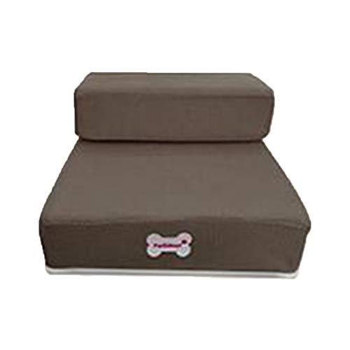 Disposable Insert Pads (Krastal Luxury Mesh Fold Pet Ramp Stairs for Little Small Dog Puppy Cat Animals Mat Mattress Bed)