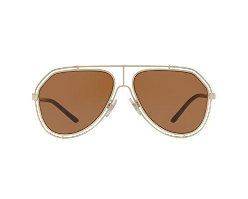Dolce & Gabbana Unisex DG2176 Pale Gold/Brown One ()