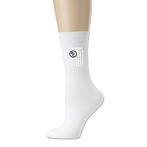 (Unisex Cotton Sock Crew Socks Casual Socks Wisconsin National Guard Members Supportingpng US Army)