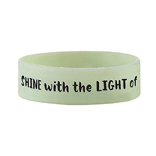 Shine with the Light of Jesus Neon Wristband - 24/pk ()