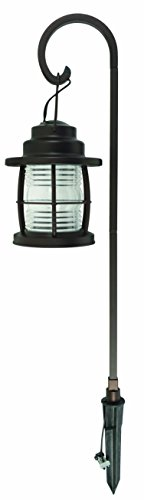 Malibu Harbor Collection LED Pathway Light LED Low Voltage Landscape Lighting, Hanging Pathway Lights Dual Use Shepherd Hook Lights for Driveway, Yard, Lawn, Pathway, Garden 8422-4110-01