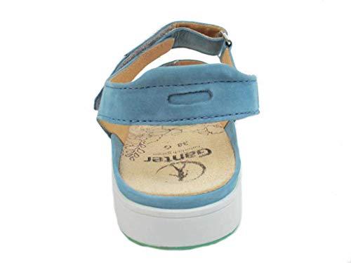 Alla Ganter 33000 Sandali Caviglia azure Blu Con Cinturino Donna g Gina vra7qwrX