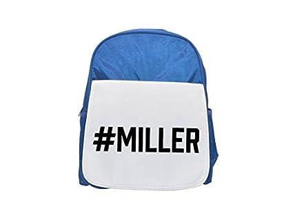 Miller Printed Kid s Blue Backpack, Cute de mochilas, Cute Small de