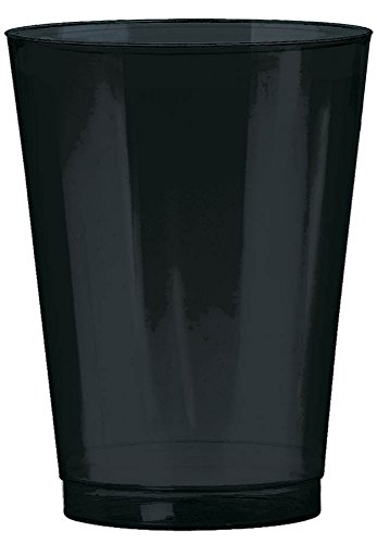 Big Party Pack  Plastic Cup | 10 oz. | Jet Black | Pack of 72 | Party Decor