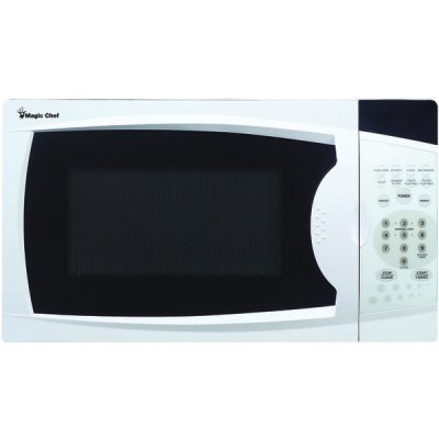 Magic Chef Mcm770w .7 Cubic-Ft 700-Watt Microwave With Digital Touch (White)